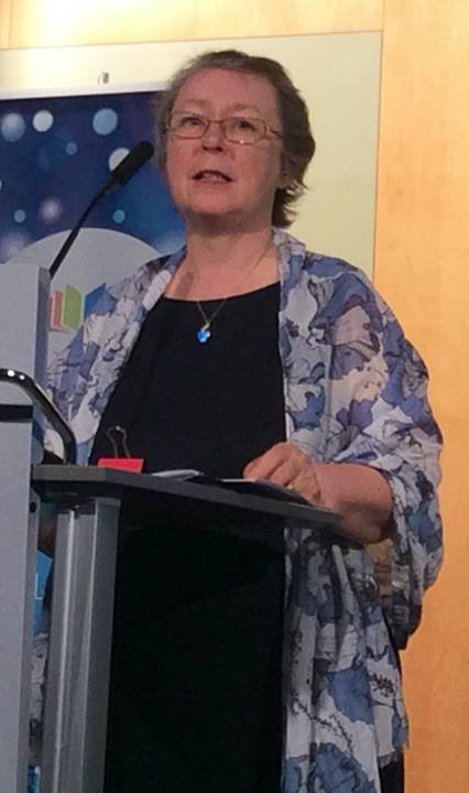 Write Canada Gala 2014 - accepting award